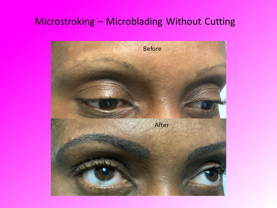Microblading without Cutting Comparison