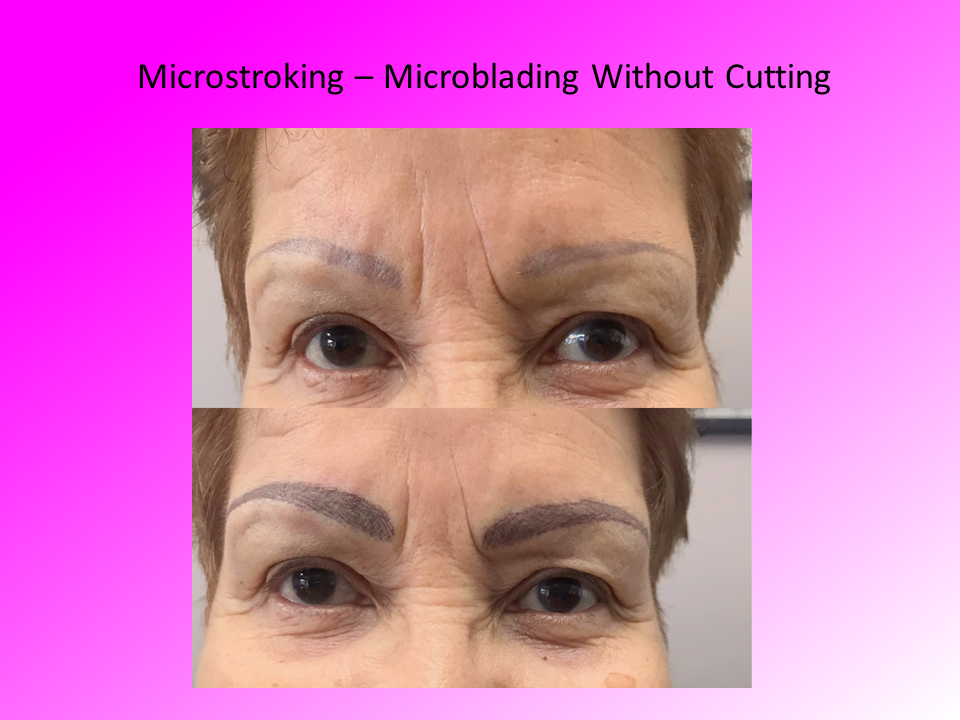 Full Face View Microstroking Comparison